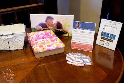 There are several different ways you can encourage your guests to give back in your name. You can set up a typical gift table but have an informational sign that encourages charitable giving rather than gifts. You can also prepare your guests by registering through a charity or list your favorite organization on your wedding website. Alternatively, if you think your guests might be the kind to want to bring physical gifts, try having a toy drive or asking everyone to bring their favorite book to be donated. You still get a great gift table as well as the satisfaction that comes with helping others. - Wedding Planner - Each & Every Detail