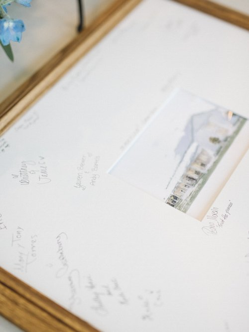 After the ceremony, guests were guided into the reception and throughout with a custom seating chart featuring the venue drawing, along simple and cute signs from the welcome table to the bar. - Wedding Reception - Wedding Sign - McKinney Wedding Planner - Each & Every Detail
