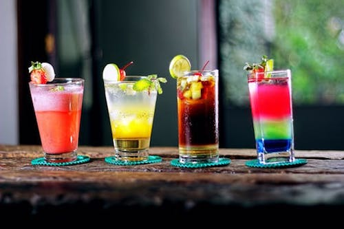 Isn't this what makes adult parties fun? With the everyday stress of adulting, your guests will LOVE you for providing free booze or at least a bar they can purchase some from! If you don't want to have to pay for a bunch of it, make it a BYOB party! - Birthday Party - Event Planner - Each & Every Detail