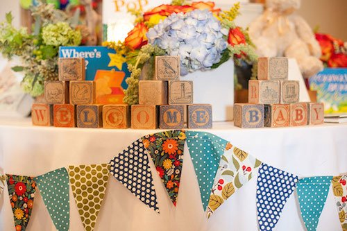 A book-themed shower gives you the opportunity to incorporate a lot of different food and décor options – plus the parents-to-be can keep the books for story time. - Baby Shower - Shower Theme