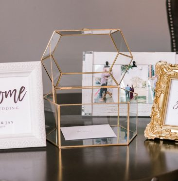 Gold & Glass Card Box (Tier One)