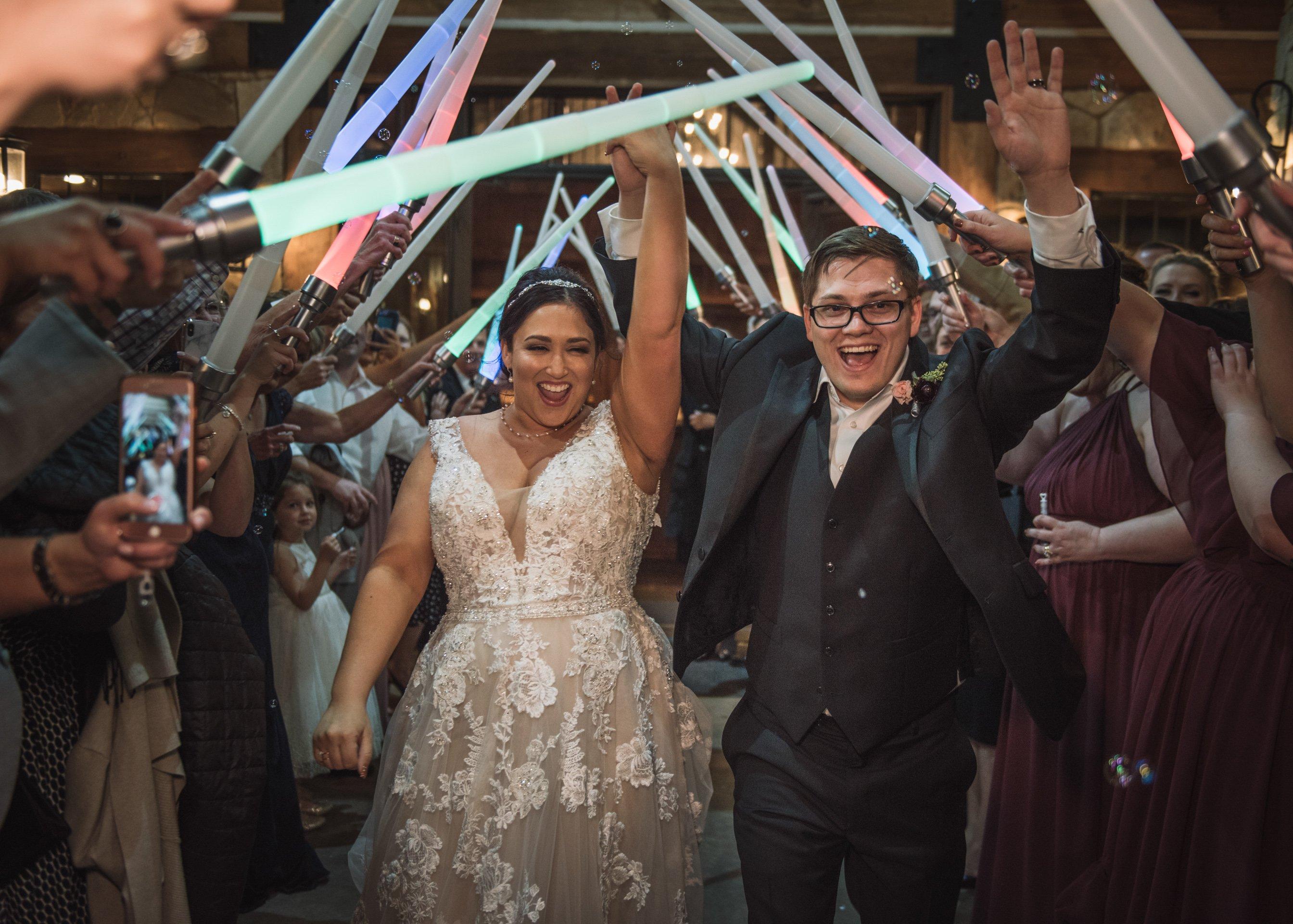 Polk Wedding - Miranda Marrs Photo - Exit