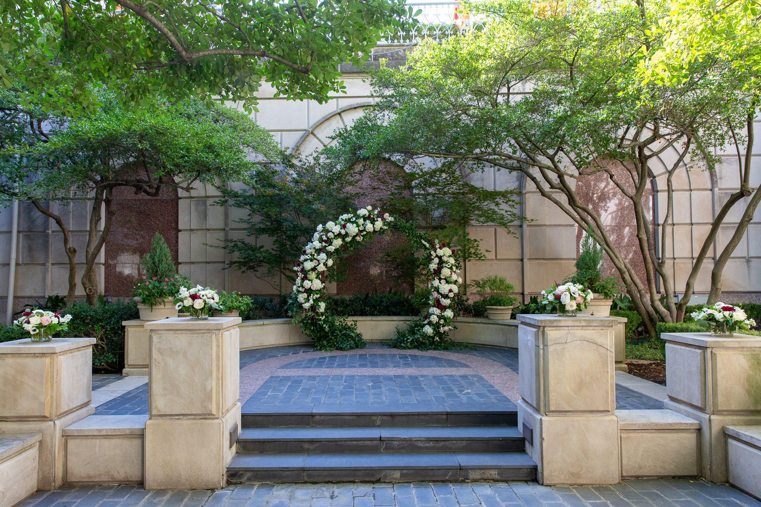 Kiley Wedding - DCM Photo - Ceremony Arch