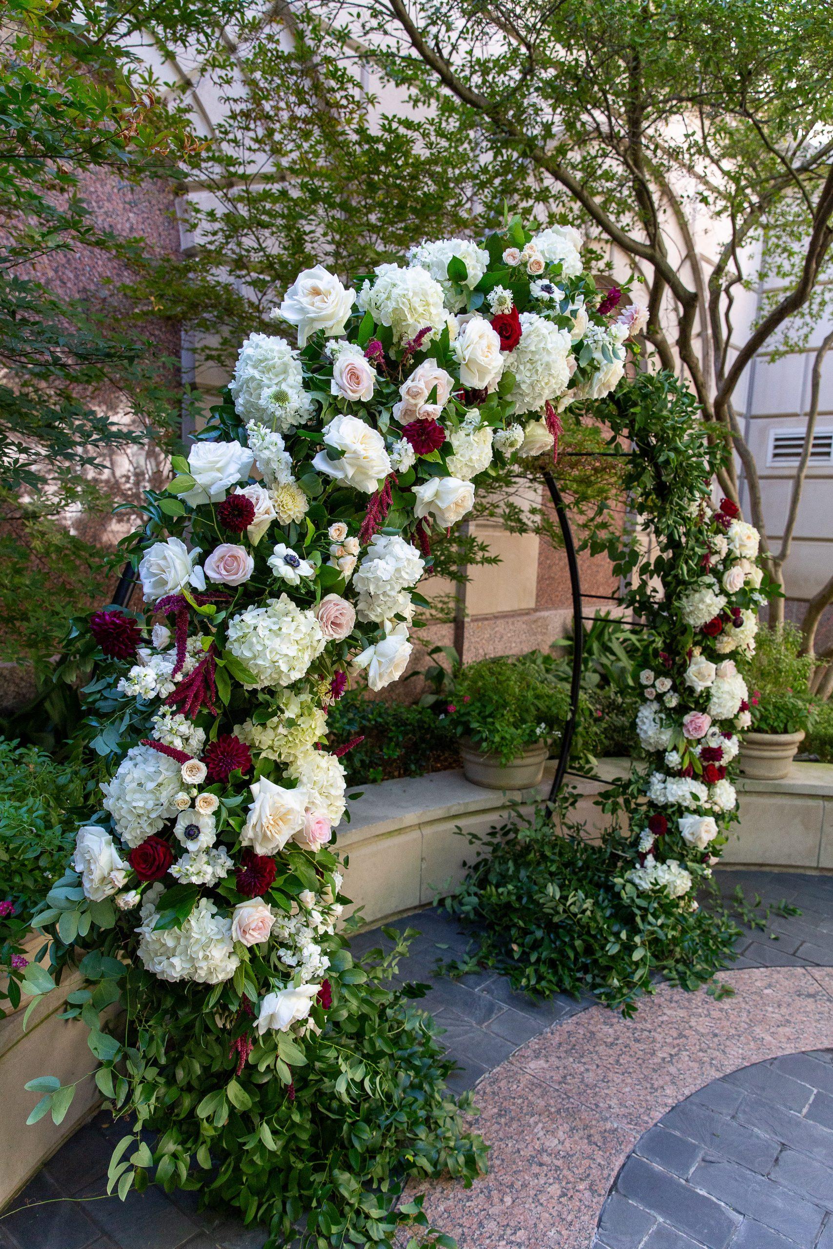 Kiley Wedding - DCM Photo - Ceremony Arch3