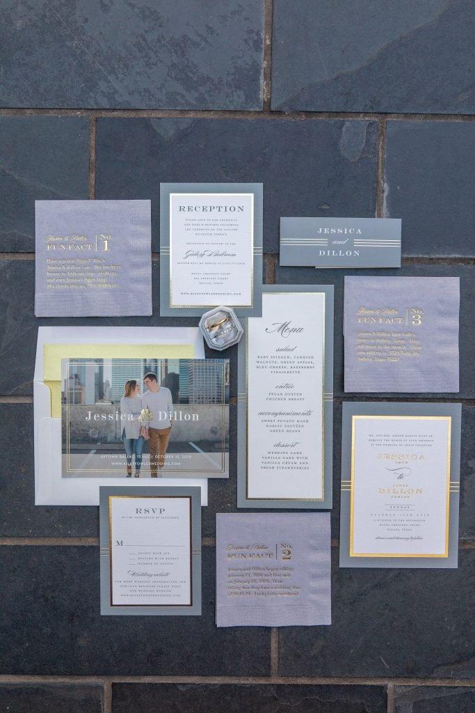 Kiley Wedding - DCM Photo - Invitation