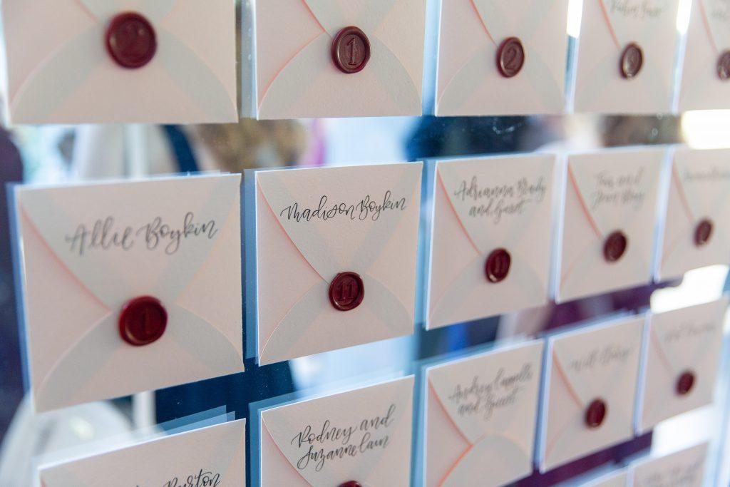 Kiley Wedding - DCM Photo - Place Cards