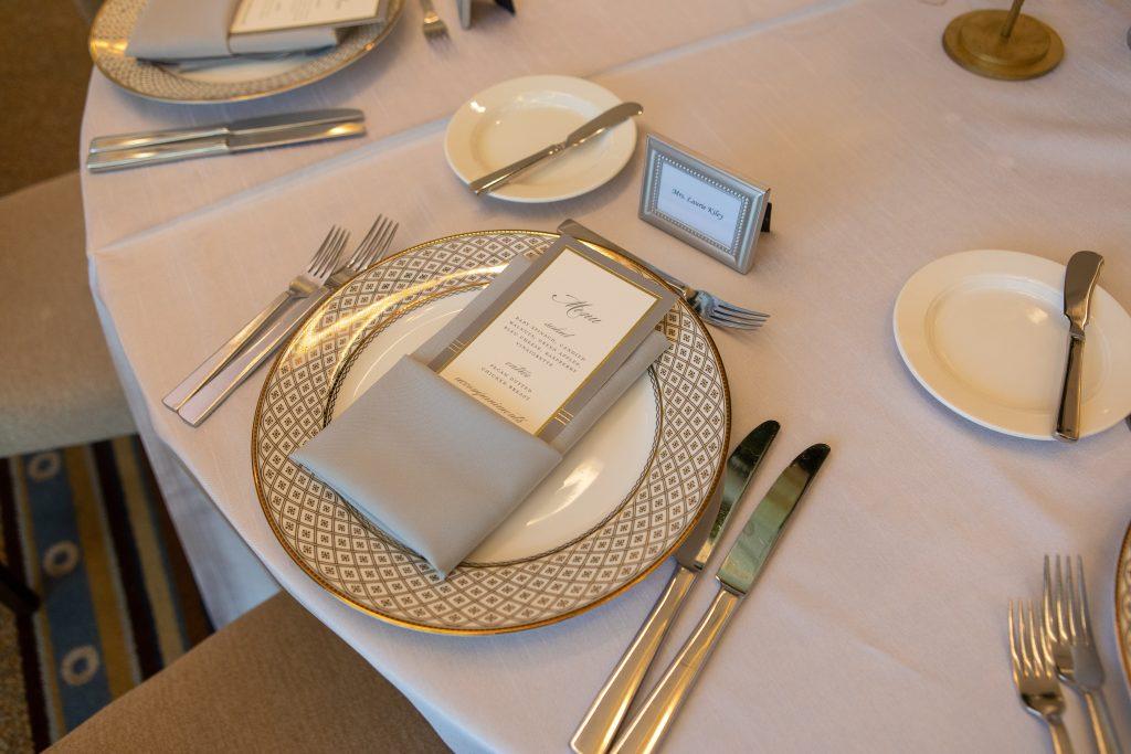 Kiley Wedding - DCM Photo - Place Setting