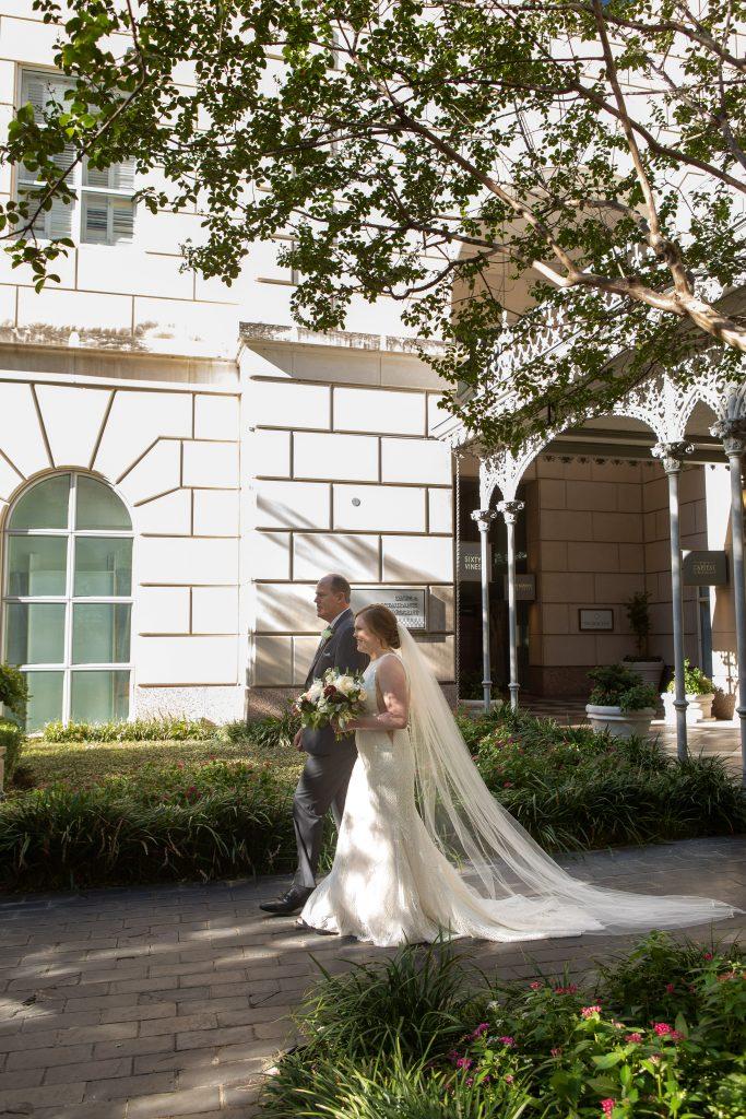 Kiley Wedding - DCM Photo - Walking Down the Aisle