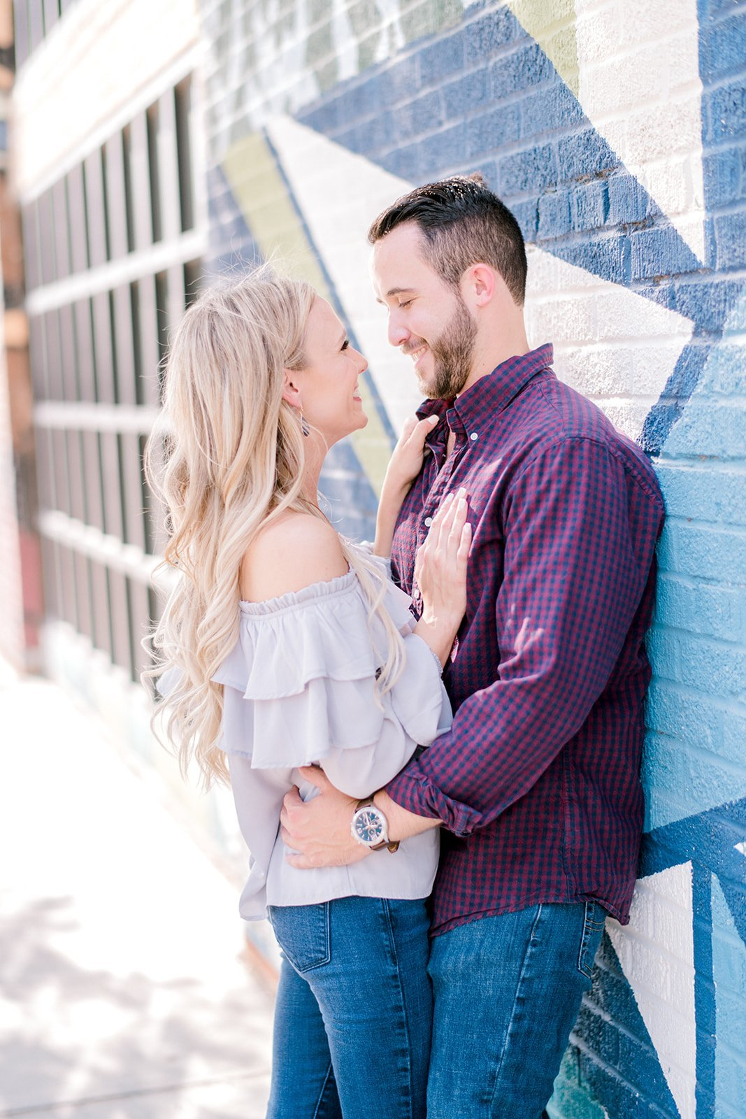 Kristen and Zach