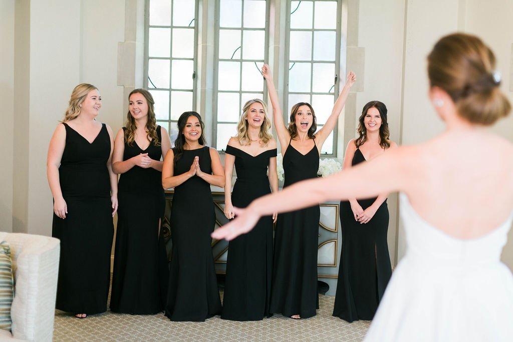 Winkler Wedding - Brad & Monica Wedding Films - Bridesmaid First Look