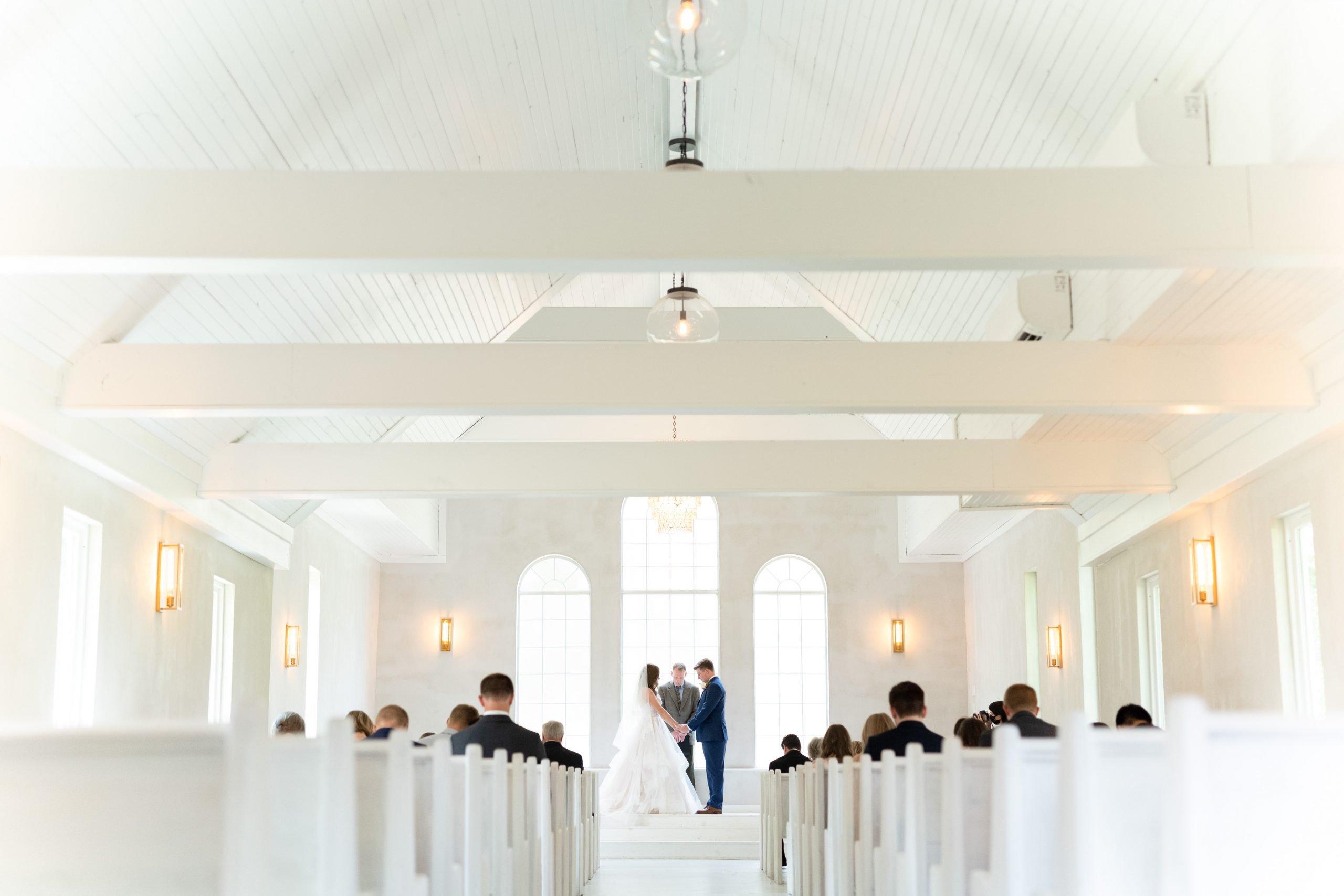 Ben Q Photography - Bride & Groom - Dallas Wedding - The Emerson - Formal Wedding Photo - Modern Wedding - Wedding Ceremony - Dallas, Texas