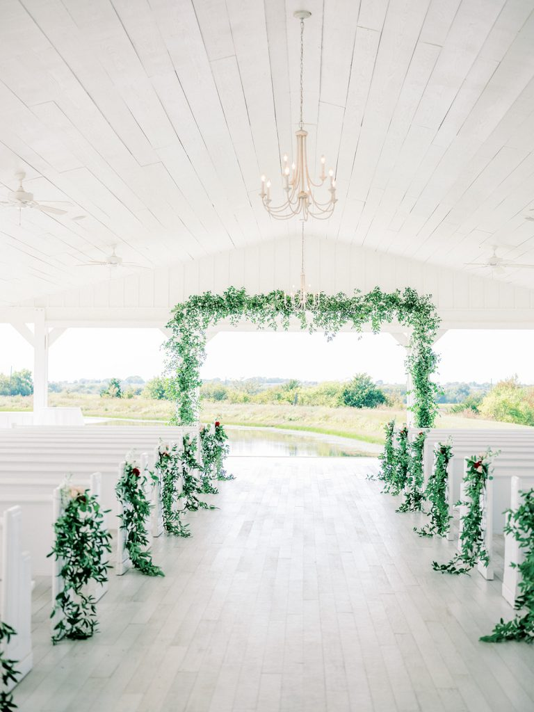 McKinney, Texas - Texas Outdoor Wedding - Each & Every Detail - Mauve & Burgundy Wedding - Lush Greenery Wedding - Open Air Chapel - The grand Ivory - Outdoor Wedding Ceremony