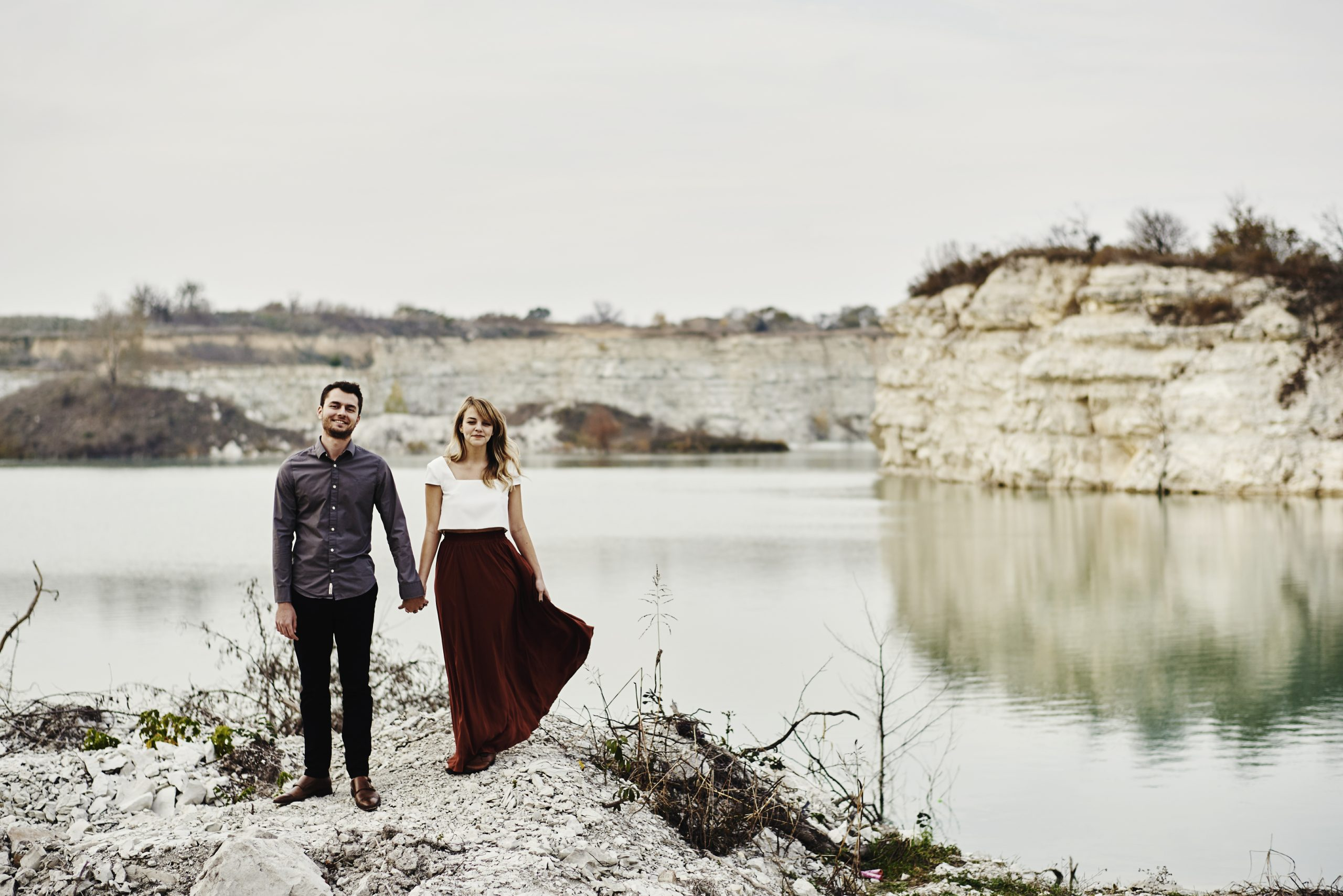 Outdoor engagement session - texas proposal - moody photography - moody proposal session - stephanie rogers photography