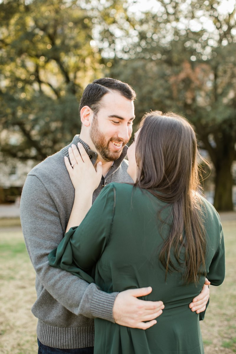 Red Fern Photography - Holiday Engagement - Dallas, Texas - Outdoor Proposal - Texas Engagement