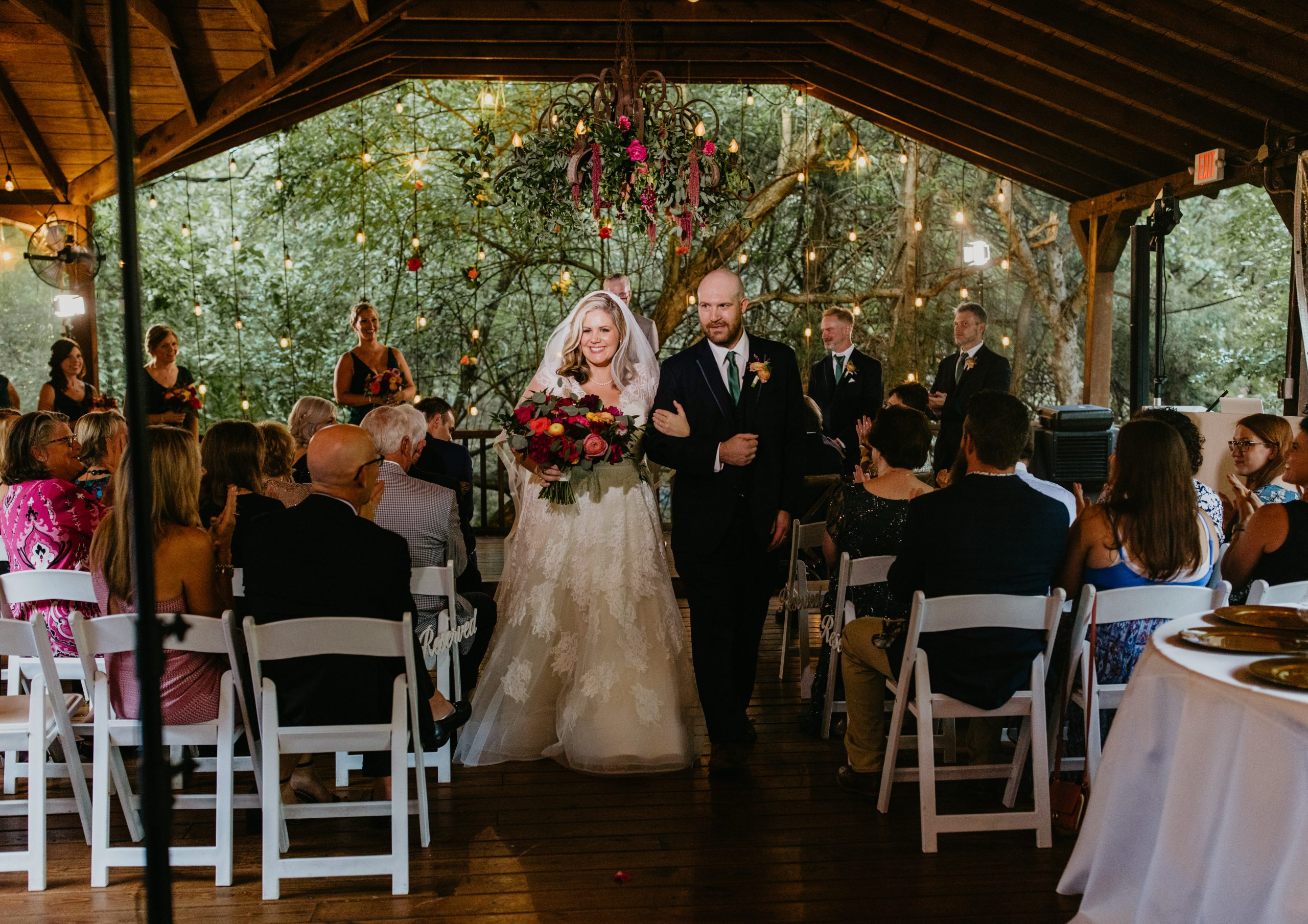 Meme Urbane Photography - Outdoor Garden Wedding - Bride & Groom - McKinney Texas - Avalon Legacy Ranch - Outdoor Wedding - Wedding Ceremony - Bright Color Outdoor Wedding