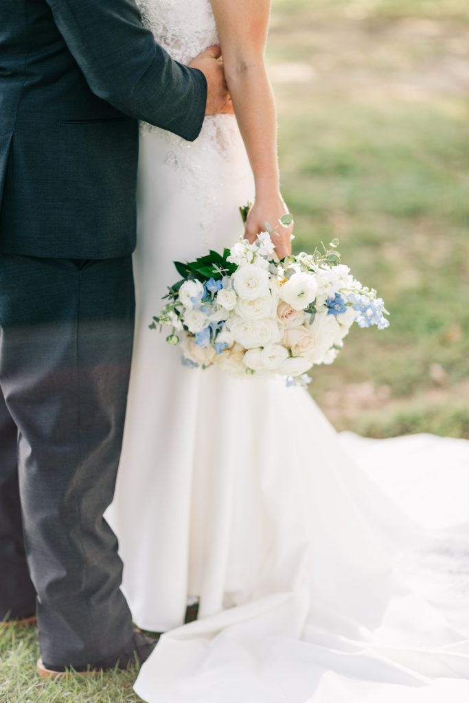 Ivory & Gold Wedding - Outdoor Tent Wedding - McKinney, Texas, Elegant Outdoor Wedding Ceremony - Bridal Bouquet - Each & Every Detail