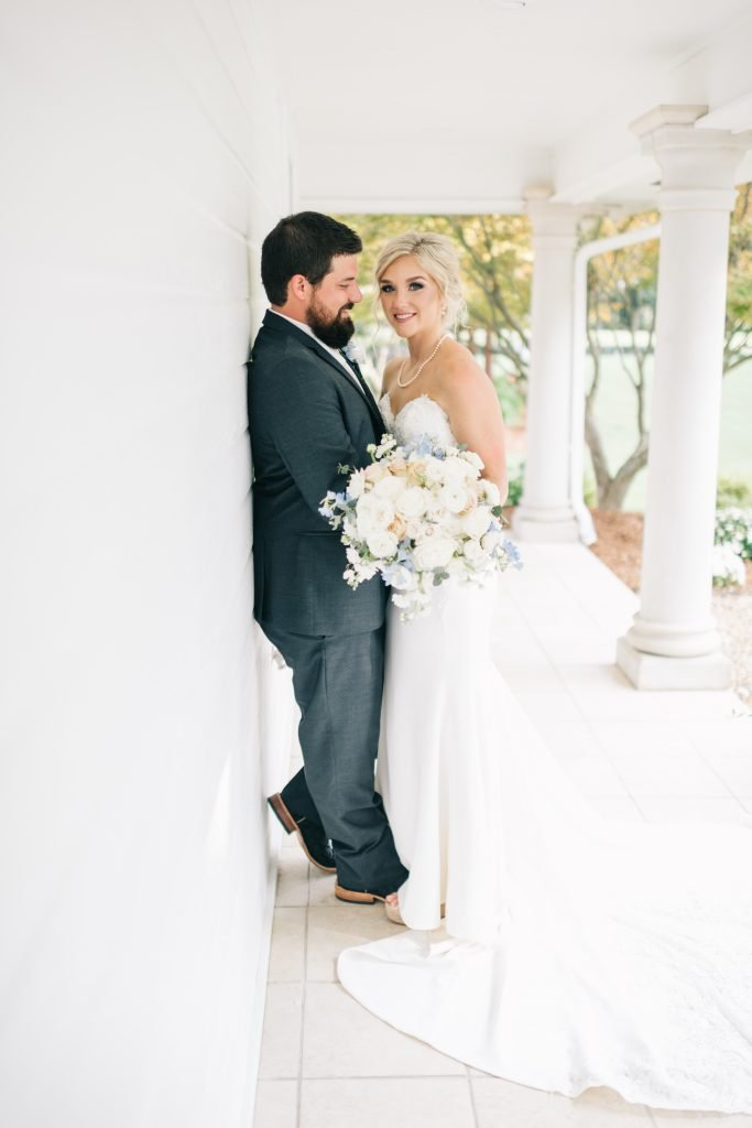 Ivory & Gold Wedding - Outdoor Tent Wedding - McKinney, Texas, Elegant Outdoor Wedding Reception - Country Wedding - Formal Wedding Photos - Each & Every Detail