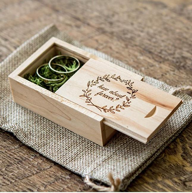Amazon Engagement Ring Box - Geocaching Engagemnet Ring Box