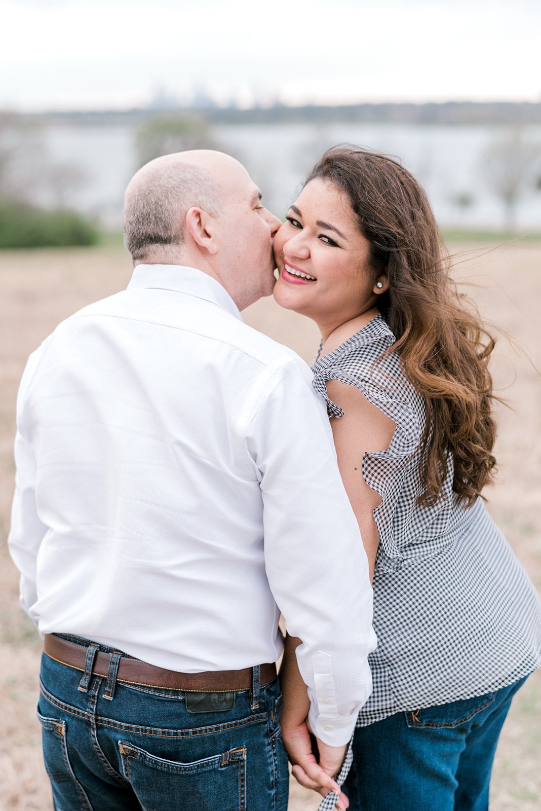 Outdoor engagement session - texas proposal - airy photography - bright proposal session - catie ann photography - dallas, texas
