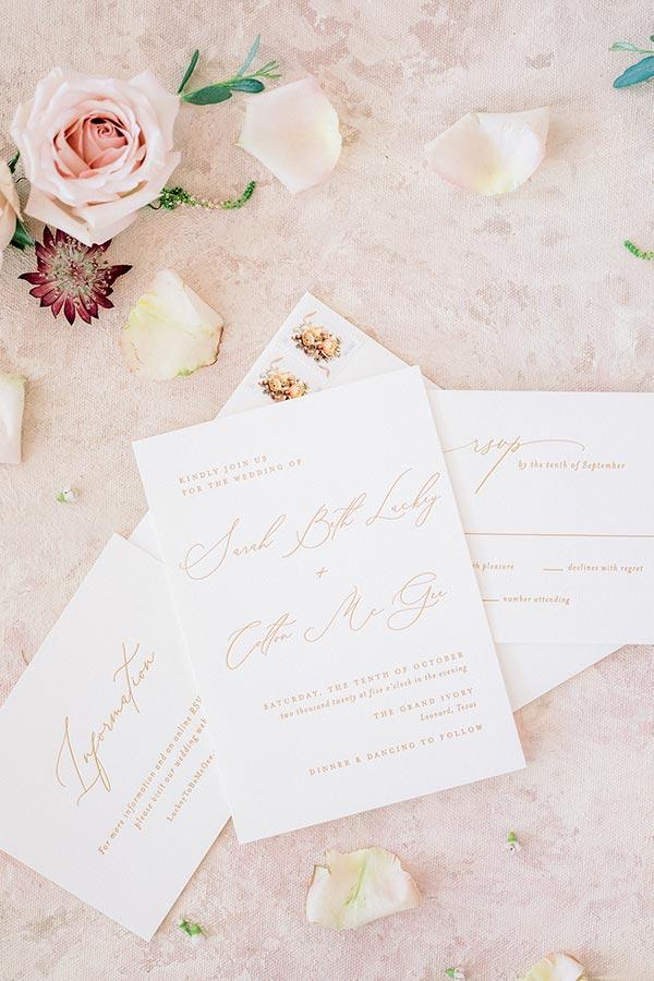 McKinney Wedding Stationery Suite