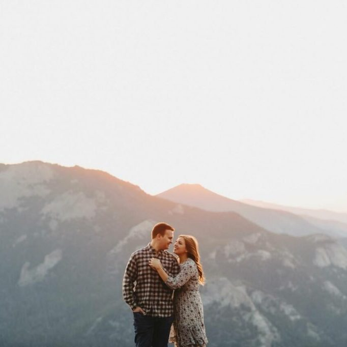 Two Pair Photography - Mountain Engagement Session - Mountain Proposal - Geocaching Proposal - Outdoor Engagement